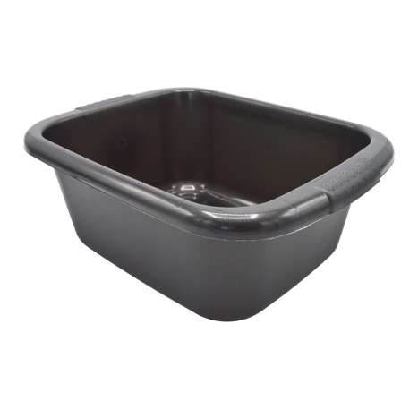 Curver Washing Up Bowl - 10L - Graphite