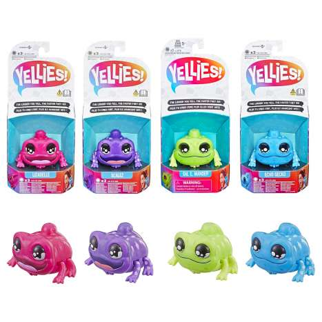 Yellies! Voice-Activated Lizard Pet - Assorted