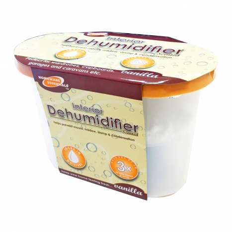 Homeware Essentials Vanilla Scented Dehumidifier