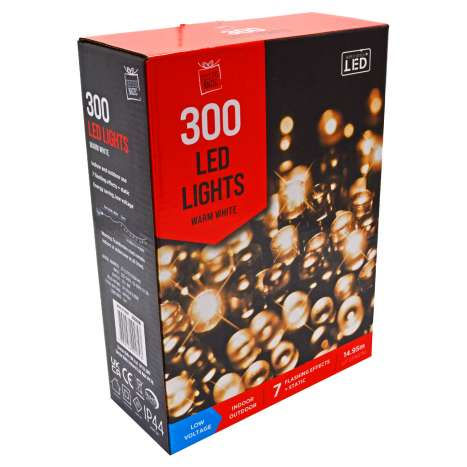 300 LED Lights - Warm White
