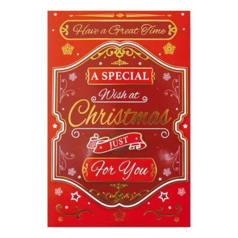 Christmas Cards Code 75 - Christmas Wish Just For You