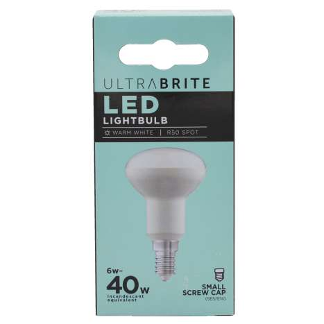 UB R50 spot bulb *small screw* cap led light bulb single 40w