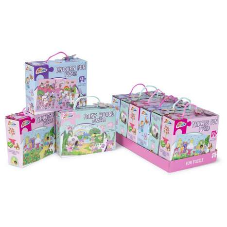 Girls Puzzles 45 Piece - Assorted Designs