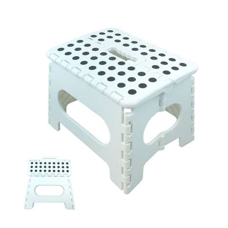 Small foldable step stool assorted colours