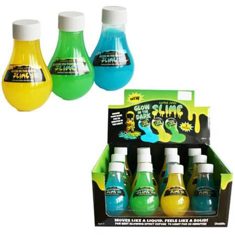 Glow In The Dark Slime - Assorted Colours