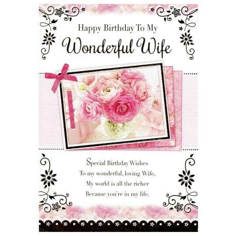 Everyday cards code 75 - Wife Birthday