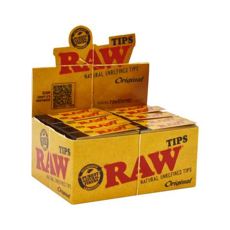 RAW Original Filter Tips 50 Pack
