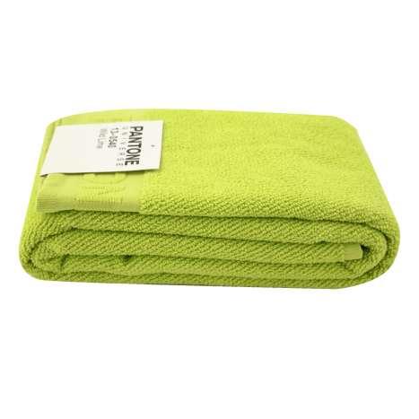 Pantone universal bath towel 140x70cm wild lime