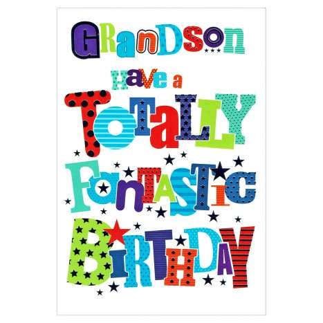 Everyday Greeting Cards Code 50 - Grandson