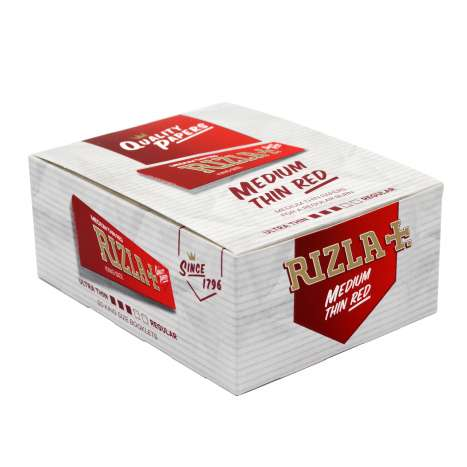 Rizla Red Medium Thin Rolling Papers 32 Pack - King Size