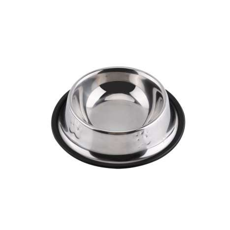 Embossed small dog bowl antiskid (rim 145mm x depth 40mm)