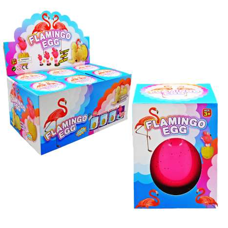 Jumbo Hatching Flamingo Egg