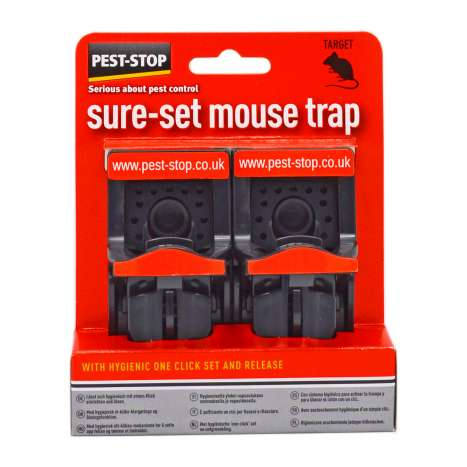 Pest-Stop Sure-Set Mouse Traps 2 Pack