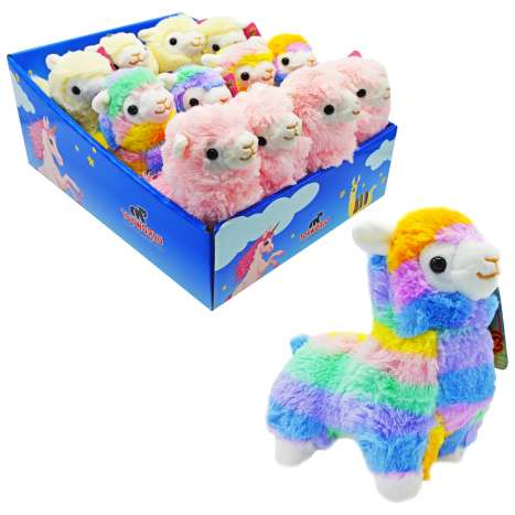 Plush Llama Toy - Assorted Colours