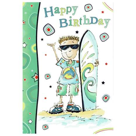 Everyday cards code 75 - Birthday (M)
