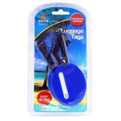 Sure Travel Luggage Tags 2 Pack