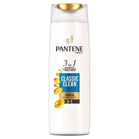 Pantene shampoo 3 in 1 classic clean 360ml