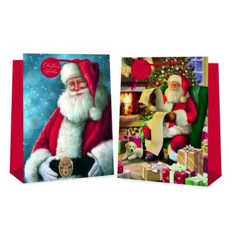 Jumbo bag - Traditional santa