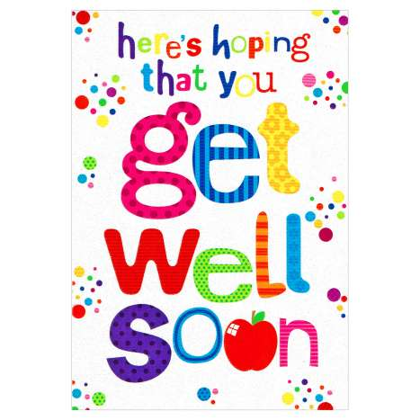 Everyday Greeting Cards Code 50 - Get Well