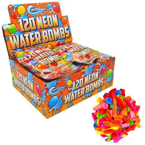 Water Bombs 120 Pack