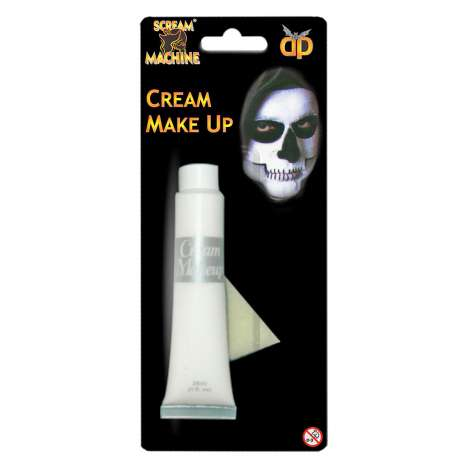 Scream Machine Cream Make Up 28ml - White