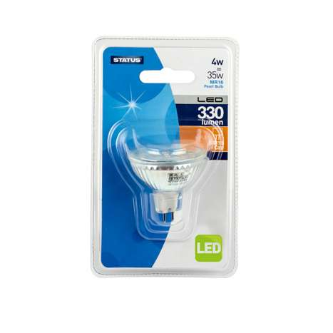 MR 16 cap 4W = 35W LED bulb single