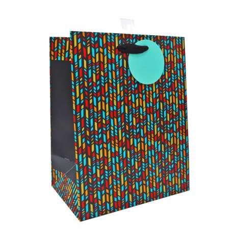 Medium Gift Bags - Chevron (21cm x 26cm)
