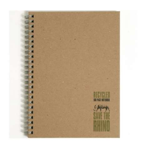 Rhino Twinwire 160 Page Lined Notebook