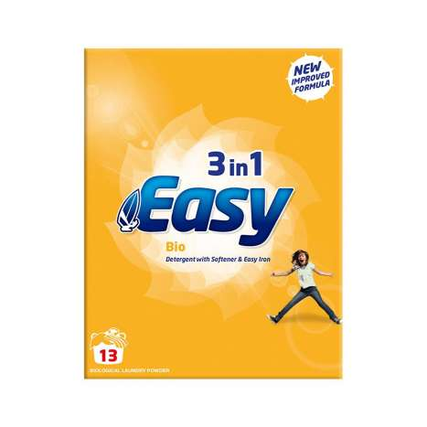 Easy 3 In 1 Bio Laundry Powder 884g