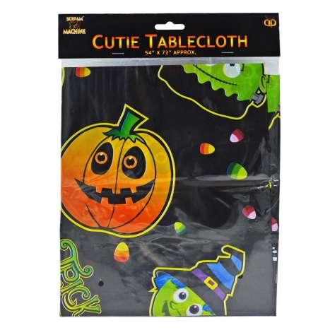 "Scream Machine Halloween Tablecloth 54"" x 72"""