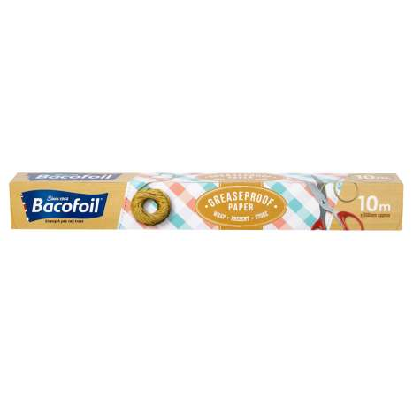 Bacofoil Greaseproof Paper 10m x 38cm