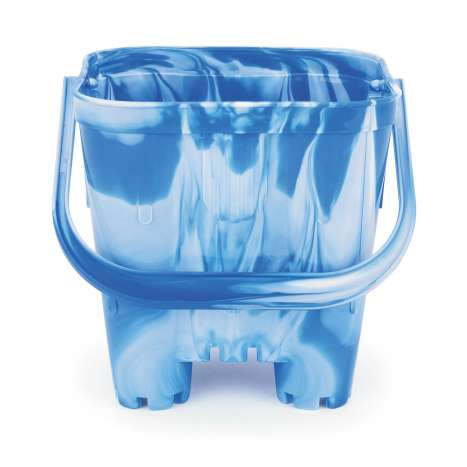 Large castle bucket assorted colours - Height: 190mm Width: 190mm