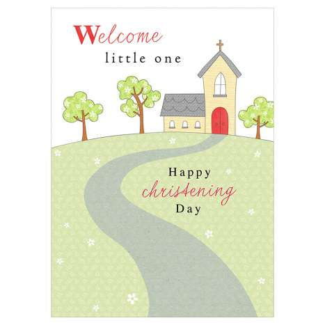Garlanna Greeting Cards Code 50 - Christening
