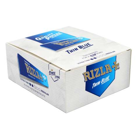 Rizla Blue Thin Rolling Papers 32 Pack - King Size
