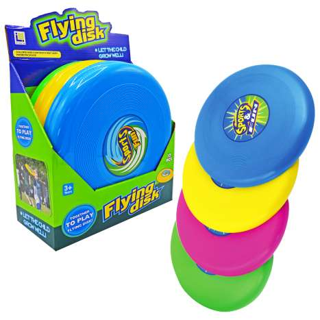 Homeware Essentials Flying Disc - Assorted Colours