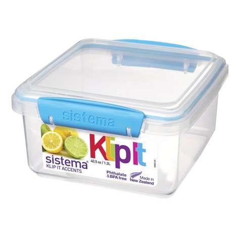 Sistema Klip It Accents Food Container 1.2L