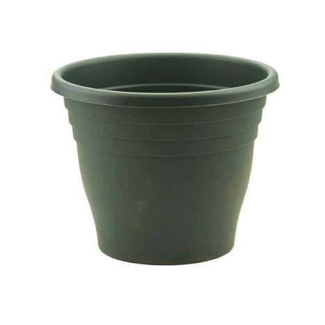 30cm round ascot planter green