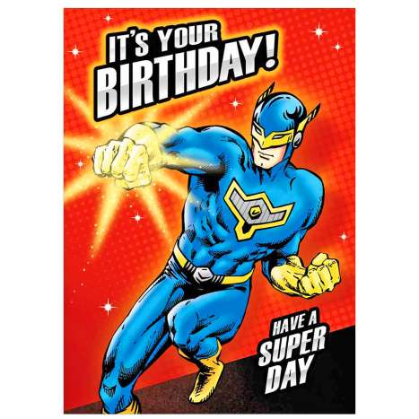 Garlanna Greeting Cards Code 50 - Superhero