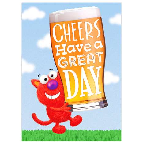 Garlanna Greeting Cards Code 50 - Cheers