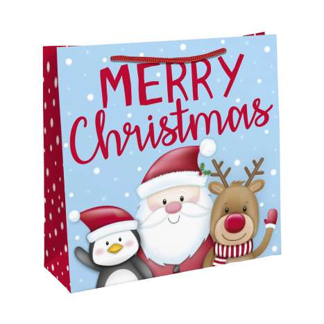 Christmas Santa Jumbo Shopping Bag