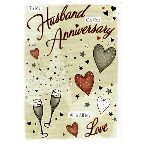 Everyday cards code 75 - Husband Anniversary