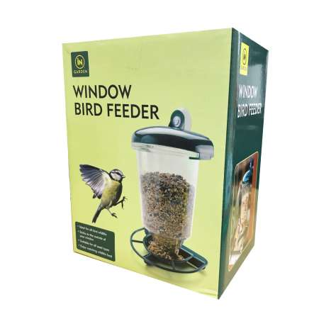 Window bird feeder 2989