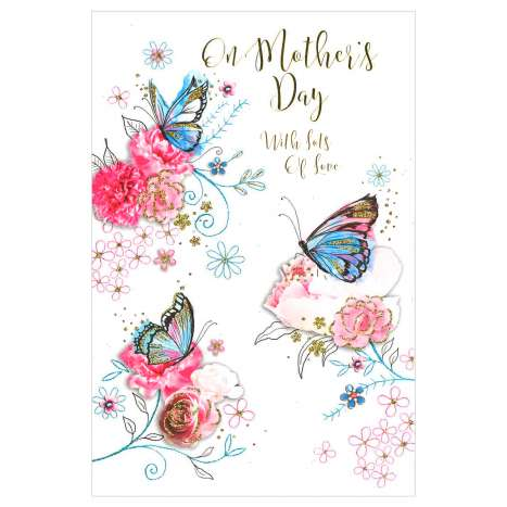 Mother's Day Cards Code 75 - Open