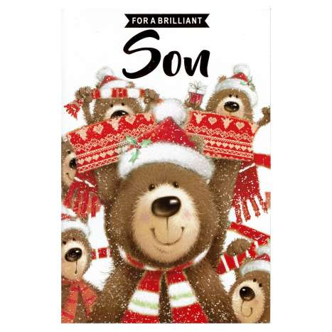 Christmas Cards Code 75 - Son