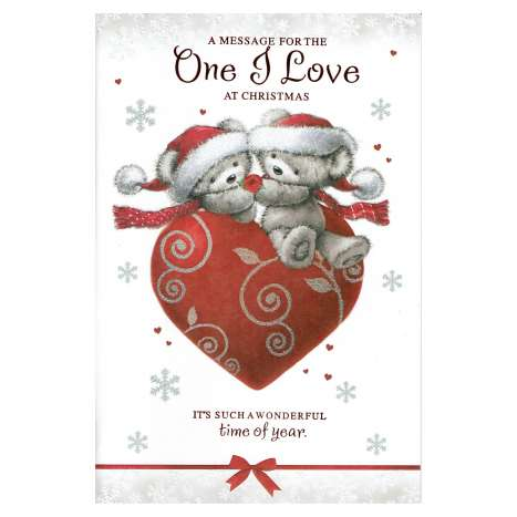 Christmas Cards Code 75 - One I Love