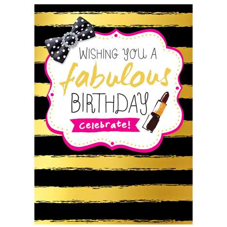 Garlanna Greeting Cards Code 50 - Fabulous Day