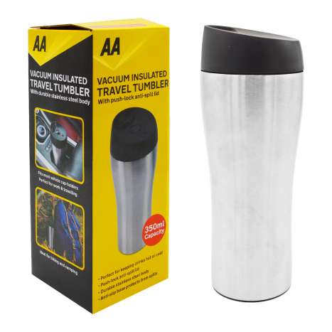 AA Vacuum Insulated Travel Tumbler 350ml