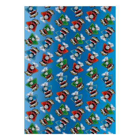 Thomas & Friends wrap 2M x 70cm - roll in display - Price Marked £1.50