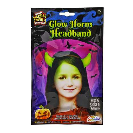 Glow In The Dark Horns Headband