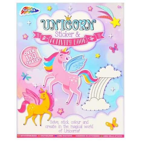 Unicorn Sticker & Activity Book